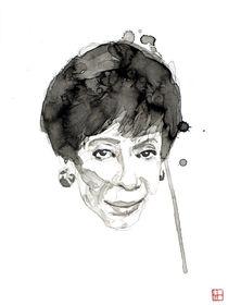 Portrait of Shirley Horn von Philippe Debongnie