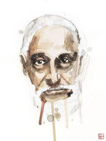 Portrait of Sonny Rollins von Philippe Debongnie