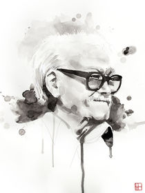 Portrait of Toots Thielemans von Philippe Debongnie