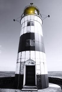 Leuchtturm Schleimünde an der Ostsee von fraenks