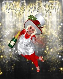 Prosit Neujahr by Conny Dambach