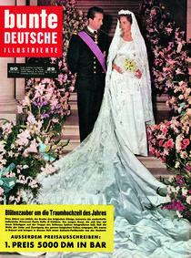 Prinz Albert von Lüttich & Prinzessin Paola: BUNTE Heft 29/59 von bunte-cover