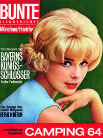 Elke Sommer: BUNTE Heft 33/64 von bunte-cover