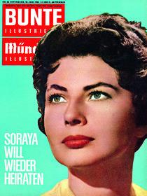 Prinzessin Soraya: BUNTE Heft 34/61 von bunte-cover