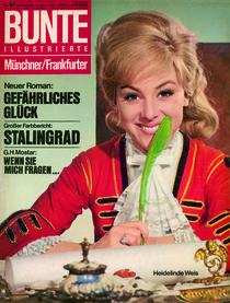 Heidelinde Weis: BUNTE Heft 47/66 von bunte-cover