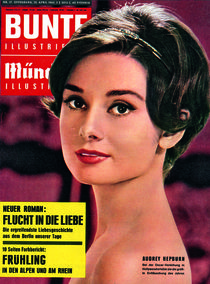 Audrey Hepburn: BUNTE Heft 17/62 von bunte-cover