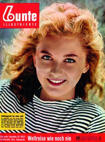Isabelle Corey: BUNTE Heft 1/57 von bunte-cover
