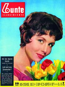 Sonja Ziemann: BUNTE Heft 7/55 von bunte-cover