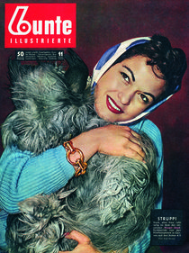 Margit Saad: BUNTE Heft 11/55 by bunte-cover