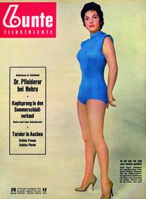 Gina Lollobrigida: BUNTE Heft 15/55 von bunte-cover
