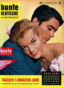 Romy Schneider: BUNTE Heft 15/59 von bunte-cover