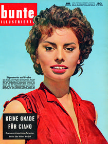 Sophia Loren: BUNTE Heft 20/58 von bunte-cover