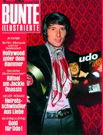 Udo Jürgen: BUNTE Heft 20/70 von bunte-cover