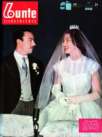 Prinzessin Ira & Prinz Alfonso: BUNTE Heft 21/55 von bunte-cover