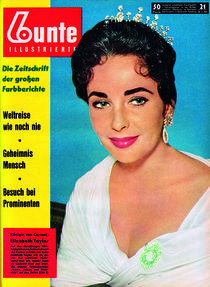 Elizabeth Taylor: BUNTE Heft 21/57 von bunte-cover