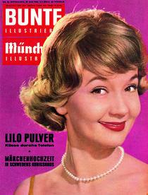 Lilo Pulver: BUNTE Heft 22/61 by bunte-cover