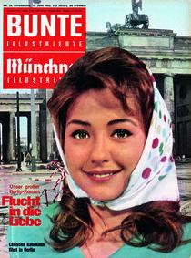 Christine Kaufmann: BUNTE Heft 24/62 von bunte-cover