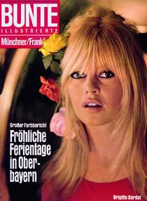 Brigitte Bardot: BUNTE Heft 23/66 by bunte-cover
