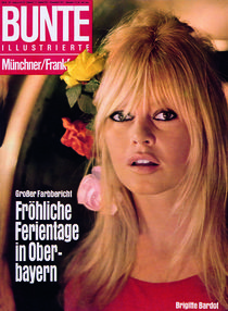 Brigitte Bardot: BUNTE Heft 23/66 von bunte-cover