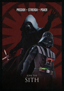 Join The Sith - Star Wars poster by Game Posters