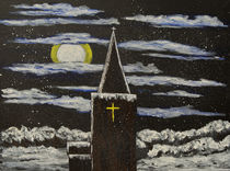 St Thomas in the snow by Mark Rosser