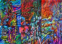 Radiculopathy no . 4  von Azure Art