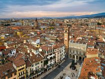 Rooftops of Verona by Michael Abid