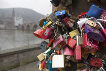 Heidelberg Love Locks  von Rob Hawkins