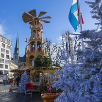 Luxembourg winter turbine  by Rob Hawkins