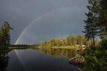 Regenbogen Schweden von Hubert Hämmerle