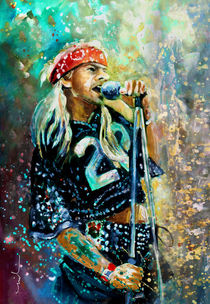 Axl Rose by Miki de Goodaboom