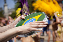 Brazilian tambourine on the parade by studioflara