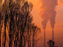 Winterlicher Sonnenuntergang  von Detlef Koethner