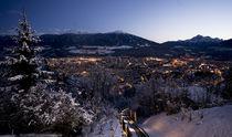 Innsbruck - Blick von der Hungerburg by Rolf Sauren