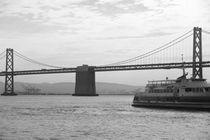 Bridges in San FRancisco Bay by Raquel Cáceres Melo
