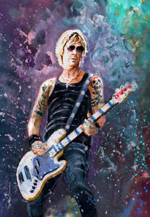 Duff McKagan by Miki de Goodaboom