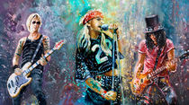 Guns N'Roses by Miki de Goodaboom