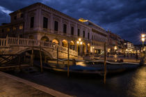 Ponte della Paglia, Venice, Italy by h3bo3