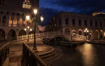 Ponte della Paglia, Venice, Italy von h3bo3