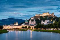 Salzburg Blaue Stunde von Philip Kessler