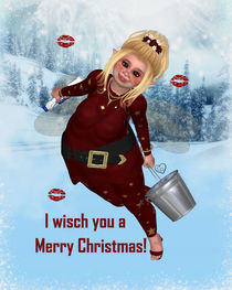 I wisch you a Merry Christmas! von Conny Dambach