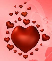 Fliegende Herzen von Conny Dambach