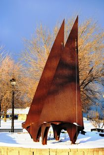Sailboat Sculpture 2, 2017 by Caitlin McGee