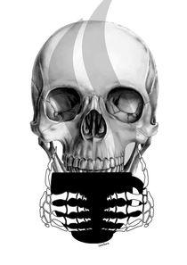 Coffee Skull von Camila Oliveira