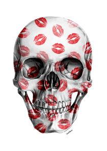Kisses Skull I von Camila Oliveira