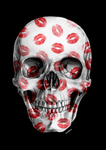 Kisses Skull II von Camila Oliveira