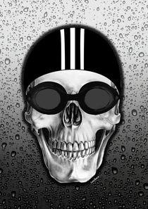 Skull swimmer von Camila Oliveira