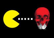 Pacman Skull von Camila Oliveira