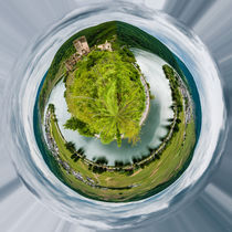 Moselschleife bei Beilstein-Little Planet by Erhard Hess