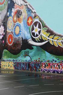 Berlin street art [elephant] by Gytaute Akstinaite